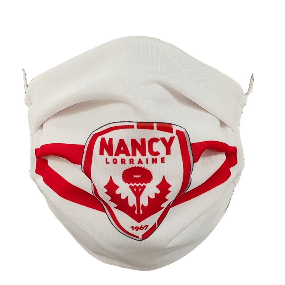 Masque blanc AS Nancy Lorraine