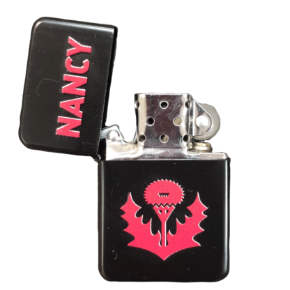 Briquet Zippo logo chardon AS Nancy Lorraine