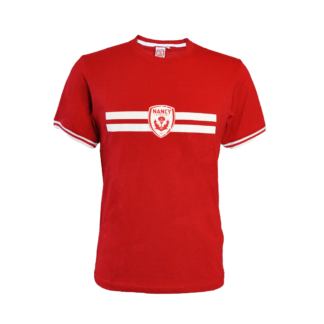 T-shirt rouge asnl face