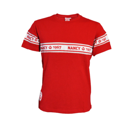 T-shirt rouge asnl 1967 face