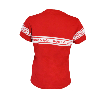 T-shirt rouge asnl 1967 dos